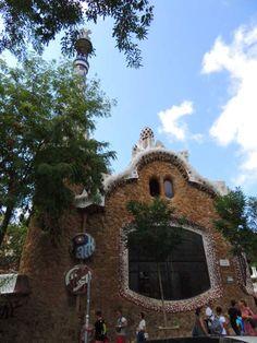 Pabellón de entrada al Parc Güell, Barcelona