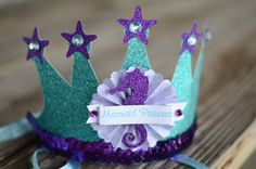 Mermaid Princess Party Hat. $700 worth of mermaid party prizes going on till Feb. 13th!! Click to enter. #mamaandbabylove