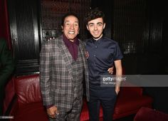 Singer-songwriter Smokey Robinson (L) and singer Nathan Sykes attend Little Kids Rock Benefit 2016 at Capitale on October 5, 2016 in New York City.