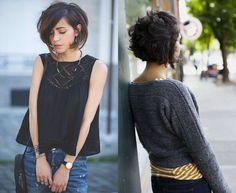 cute-black-layered-bob-haircuts.jpg 1,200×984 pixels