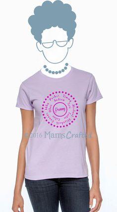 Mom & Children Names T-Shirt, for Mom | Grandmothers | Mum | Mommy | Mama | Grammy | Grandma | Nana | Mimi