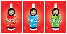 Kampania Coca-Coli na rosyjski rynek. Wykorzystanie znanego motywu Matrioszek.