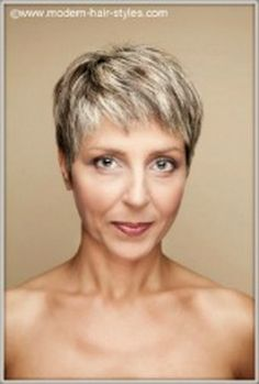 90 Classy and Simple Short Hairstyles for Women over 50 | Short ...
