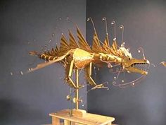 Brass Dragon.By keithnewsteadautomata.com  I hope I've pinned the short youtube because it really is super cool