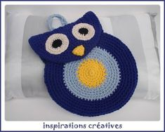 Owl Tote.  Pattern is in French, but apparently can be understandable through Google translate.  [ Free Crochet Pattern ]
