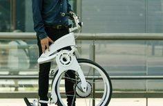 Praticidade e conforto é o que a Flybike promete. Seu design é simples, moderno e permite que você dobre ela em 1 segundo! Confira mais sobre esse projeto em nosso sie: DesignTendencia.com.br