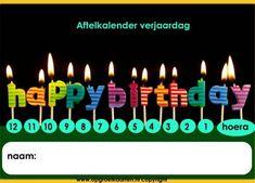 aftelkalender kinderverjaardag