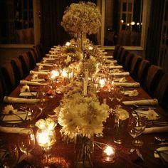 VIP dinner decoration