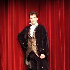 Le Misanthrope Anabase Productions. Thomas Grascoeur dans le rôle d'Acaste Costume de Mélodie Alves