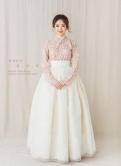 Korean Fashion – How to Dress up Korean Style – Designer Fashion Tips Hanbok Wedding, Muslimah Wedding Dress, Wedding Dresses, Korean Traditional Dress, Traditional Fashion, Traditional Dresses, Korean Dress, Korean Outfits, Modern Hanbok