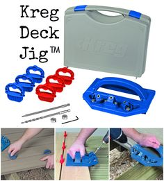 Product Spotlight: Kreg Deck Jig™ | Get a Longer-Lasting Deck with this Concealed Fastening System | Whether you're building a new deck or refinishing an old one, you want to do the job right. With the Kreg Deck Jig™, and a few simple tools you already own, you can create a beautiful and functional deck surface that is completely free of exposed fasteners and painful splinters.