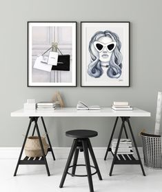 Excited to share the latest addition to my #etsy shop: Fashion Girl Printable, Black and White Woman Portrait, Romantic Art Print, Monochrome Bedroom Wall Art, Model Printable, Modern Minimalist Monochrome Bedroom, Female Portrait, Modern Minimalist, White Women, Girl Fashion, Art Prints, Wall Art, Black And White, Furniture