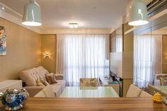 Apartamento de 65m. Sala de estar/jantar.