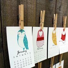 Owl Calendars