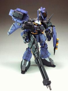 1/144 RX-106E Hi-Zack [Vanargand]  (Garage Kit) - To Be Re-Sale @ C3 x Hobby 2014 (Japan)