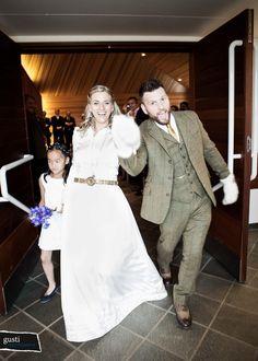 Three Piece Tweed Wedding Suit