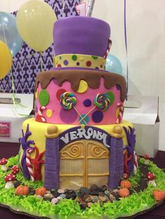 Willy Wonka & the Chocolate Factory Cake