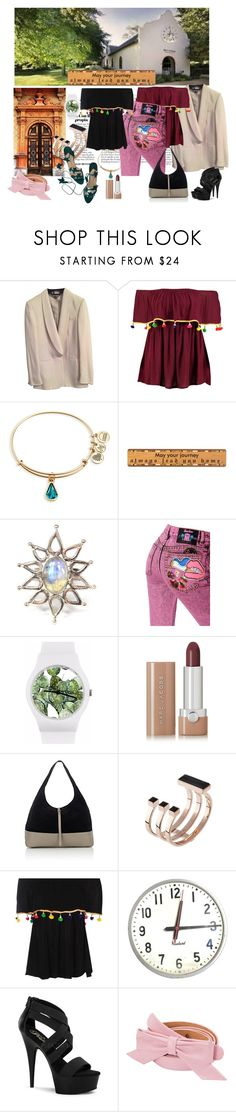 """""""always home"""" by snowmoon ❤ liked on Polyvore featuring STELLA McCARTNEY, Boohoo, Alex and Ani, Marc Jacobs, May28th, Tomas Maier, May Moma, Pleaser, Louis Vuitton and Manolo Blahnik"""