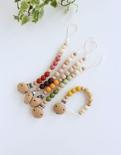 Pacifier clips AVERY are made from silicone and wood beads, that means they have different textures so baby can learn them through the touch. Clip has three different colors with wooden bead accent in-between. Different Textures, Different Colors, Nature Collection, Teething Toys, Mild Soap, Wooden Beads, Cool Toys, Baby Items, Creations