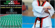 El 02 de Abril en México se intentará romper el Récord Guinness en forma (poomsaes) de Taekwondo