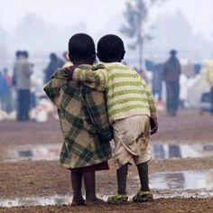 solidaridad con africa por parte de los escolares de fuenlabrada