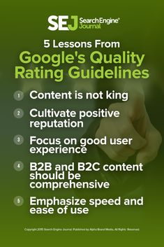 Hidden within Google's search quality rating guidelines are five important insights into the kinds of sites Google aspires to rank. Find out more here https://www.searchenginejournal.com/5-strategies-unlocked-googles-quality-rating-guidelines/156806/