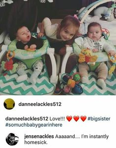 Jensen commenting that he is home sick on the photo of his children makes me so appreciative of the previous family time he gives up to make us fans happy