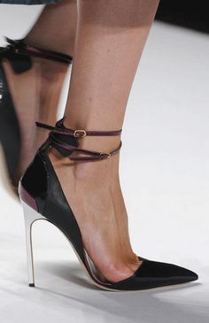 "Mendel Spring Although these heels look extremely painful, the Carrie Bradshaw part of me is telling me ""absolutely""! Love these high-end hippie vibe heels. Stilettos, Stiletto Heels, Strappy Heels, Crazy Shoes, Me Too Shoes, Shoe Boots, Shoes Heels, Mode Shoes, Estilo Fashion"