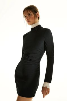 DRAPED DRESS | ZARA United States