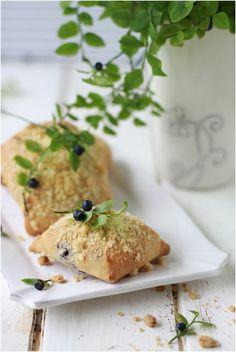 Blueberry brioches