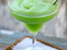 Lime Sherbet Margaritas Recipe
