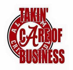 Taking care of business, Roll Tide Alabama Athletics, Alabama Football Team, Crimson Tide Football, University Of Alabama, Alabama Crimson Tide, College Football, Alabama College, Football Season, Nick Saban