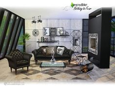 Nothing to fear living by SIMcredible at TSR via Sims 4 Updates