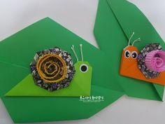 빙글빙글 달팽이 접는 방법입니다. : 네이버 블로그