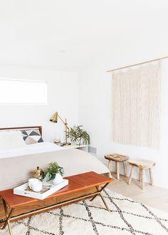 Sarah Sherman Samuel:modern organic bedroom makeover | Sarah Sherman Samuel