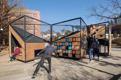 For Dense Seoul, a Foldable Playground - CityLab