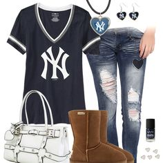 Cute Sports Fan, sports fan fashion and style inspiration. Find where to shop for female sports fan gear, clothing and accessories, to cheer on your teams. Giants Baseball, Tigers Baseball, Baseball Shirts, Baseball Outfits, Baseball Fashion, Orioles Baseball, Baseball Gear, Baseball Season, Baseball Games
