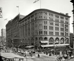 "Gimbel Bros. (""Gimbels""): NYC 1905 - Miracle on 34th Street."