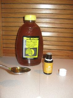 Coughs? I use one to two drops of Lemon Essential Oils from Young Living, along with some local honey!  www.everydayoilswithkim.blogspot.com