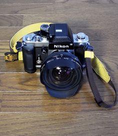 Nikon F2 Photomic w/Custom machined grip , NIKKOR-QD.C Auto 15mm F5.6