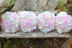 Custom bridesmaid bouquets  made to order by Noaki on Etsy