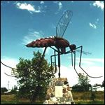 Giant Mosquito - Komarno, Manitoba