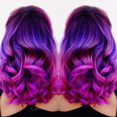 """"""" @joico Color Intensity Used! K-Pak Chrome V4 melted into New Orchid + Hot Pink + Soft Pink! #joico #Kpak #colorintensity #joicointensity #joicocolor…"""""""
