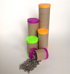 Upcyle cardboard tubes into unique storage containers with the help of Jmadden99's clever Tube Caps. http://thingiverse.com/thing:411163