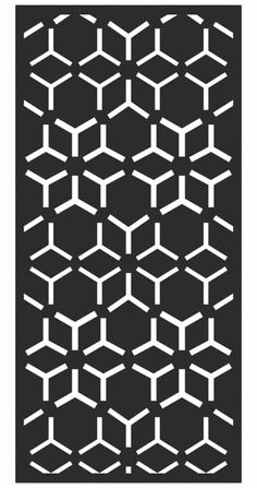 Enhance the style and practicality of your outdoor space with our geometric garden screens. This attractive laser-cut design features eye-catching pentagon shapes and will make a stylish feature in both traditional and contemporary gardens. Create an alfresco dining area with smart screening or fence your garden with style. Your imagination is the limit. Metal Garden Screens, Garden Dividers, Pentagon Shape, Garden Screening, Contemporary Gardens, Contemporary Homes, Geometric Wall, Custom Boxes, Chair Design