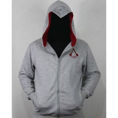 We present you made-to-order Assassin's Creed 3 Connor cotton hoodie jacket, take a look and we promise you will love it. Fleece Hoodie, Hoodie Jacket, Sweater Hoodie, Assassins Creed Hoodie, Cosplay Outfits, Mens Sweatshirts, Shirt Blouses, Hoods, Jackets