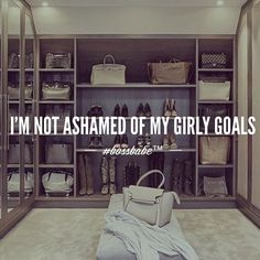 Shoes, closet, makeup.  Join the #Bossbabe Netwerk™ (Click The Link In Our Profile Now! )