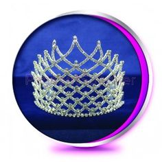 The Small Rayne Pageant Crown or Wedding Tiara (Homecoming, Prom, Bridesmaid, Birthdays, Bachlorette, etc)