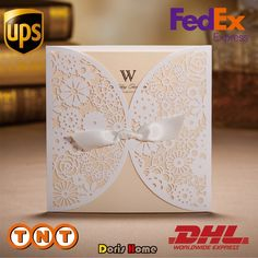 Cheap pattern kite, Buy Quality patterns apron directly from China flower zip Suppliers:               Wedding Invitation Lace Bowknot customizable Vintage Laser cu