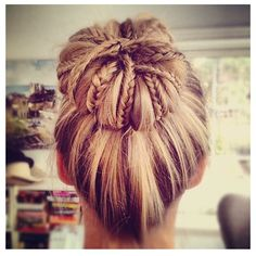 Fancy - Bun With Braids